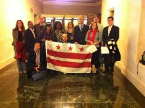 October 25th Statehood Lobby Team