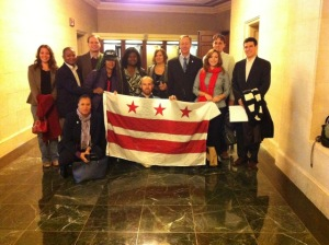 October 25th Statehood Lobby Team